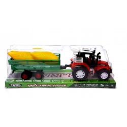 Pótkocsis Játék Traktor Fiús Játékok
