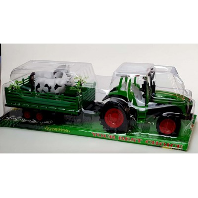 Állatszállító Játék Traktor