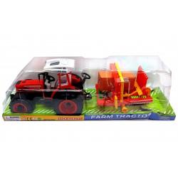 Játék Traktor Bálázós Traktorok, Munkagépek