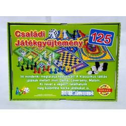 Családi Játékgyüjtemény 125 féle Társasjáték