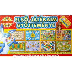Első Játékaim Gyűjteménye Kreatív, Készségfejlesztő Játékok