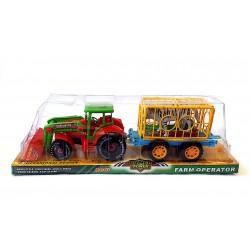 Állat szállító Traktor