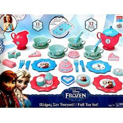 Frozen Jégvarázs Teaszett 32 Db os Konyhák, Edények, Főzőcske
