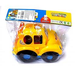 Formaberakós Autó Készségfejlesztő Bébi Játék