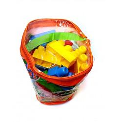 Maxi Blocks 60 Db os Építő Kocka Bébi Játékok