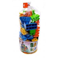 Baby Blocks Nagyméretű Építőkockák Bébi Játékok